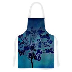 Kess InHouse Robin Dickinson 'Grapesiscle' Artistic Apron
