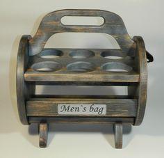Beer caddy - Six Pack - Men's bag - Bierträger - Herren Handtasche