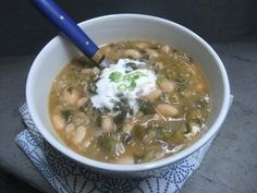 Cooking with Amy: A Food Blog: Vegetarian Green Chili recipe