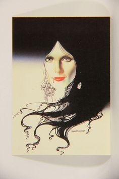 L010258 Boris Vallejo 1991 Card / She Vampire - 1983 - Card #61 / ARTWORK