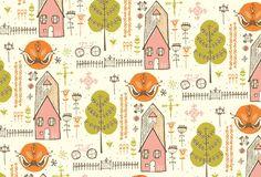 Artwork, pattern design by Julia Rothman
