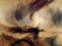 Joseph Mallord William Turner painting: Snow Storm