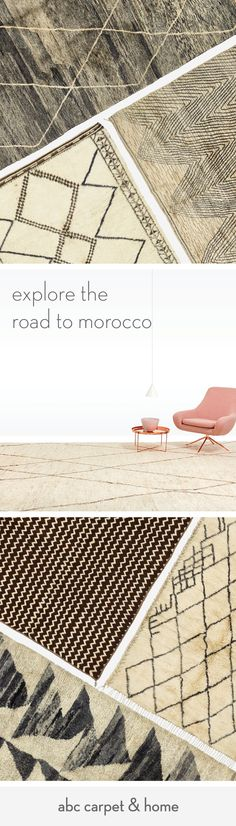 Save 50% off vintage Moroccan rugs at our Winter Sale, and journey to the exotic with one-of-a-kind, hand-knotted rugs curated from an exclusive collection.