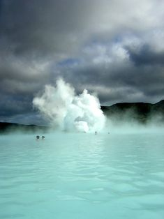EarthCache GC25643 Bláa lónið - Blue Lagoon in Iceland. Geothermal spa anyone? Source: http://wasbella102.tumblr.com/