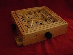 gioco labirinto in legno