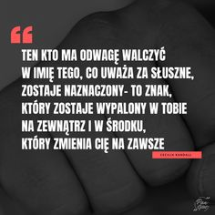#cytaty #odwaga #motywacja #życie #sentencje Education, Words, Quotes, Inspiration, Quotations, Biblical Inspiration, Onderwijs, Learning, Quote