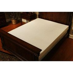InnerSpace 8-inch Luxury Deluxe Reversible RV Memory Foam Mattress, Multiple Sizes, White