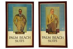 Palm Beach Suits Posters, Pair