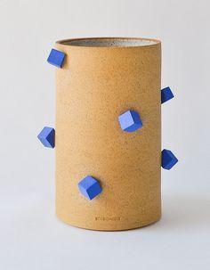 VESSEL // BLUE PYRITE | Ben Medansky Ceramics