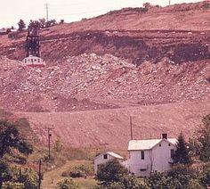 """Giant Shovel on Strip Mine Fight: 1973 Surface Mining, Sierra Club, Coal Mining, Cadiz, Shovel, West Virginia, Acre, Grand Canyon, Egypt"