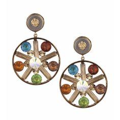 Valliyan Copper Plated Brass Lucia Earrings