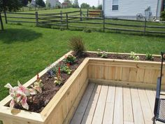 Deck Flower Box Project - Sawdust Therapy