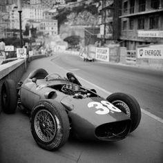 Mike Hawthorn's Ferrari. Monaco 1958.