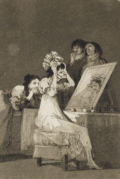 Francisco de Goya y Lucientes, Los Caprichos,