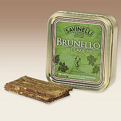 Savinelli Brunello Flake - Rør og cigarer