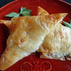 Tiropitakia *Savory Cheese Puffs* + Phyllo Dough Tutorial