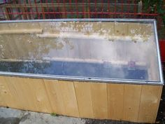 Building A Greenhouse From Recycled Shower Doors