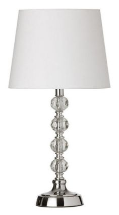 STACKED FACETED CRYSTAL BEDSIDE :: ACCENT (SMALL) LAMPS :: Ceiling lights Toronto, Bath and vanity lighting, Chandelier lighting, Outdoor lighting and kitchen lights :: Union