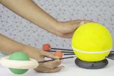 Elementary school science projects such as building a solar system provide children the opportunity to create basic projects and learn a great deal. Building a solar system teaches math through the various sizes of balls required for the planets. It teaches spelling through the labeling of the planets. It teaches sequencing because the planets have...