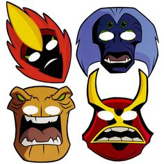 count) Description: How many aliens are coming to your party? These Ben Alien Force Masks Asst. count) contains 2 paper masks each Ben 10 Party, Ben 10 Birthday, 10th Birthday Parties, Birthday Ideas, Alien Party, Ben 10 Alien Force, Ben 10 Cake, Paper Mask, Mask Party