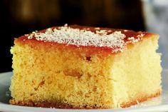 Ρεβανί - Συνταγές   γλυκές ιστορίες   Revani (semolina cake)