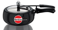 Hawkins Contura 3.5 Liters Hard Anodized Pressure Cooker >>> Review more details here : Pressure Cookers