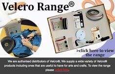 Velcro range perfect for a variety of applications including arts and crafts! Visit www.directa.co.uk to view the products
