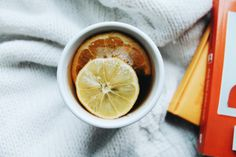 Tea. Lemon. Honey.  https://jestemolaczesc.wordpress.com