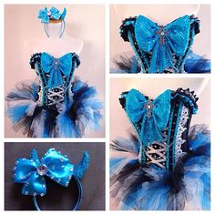 Cinderella rave outfit
