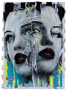 """Rone is one of the most iconic graffiti artists of Australia, his work hides under many overpasses throughout the city of Melbourne. Over the years the now famed artist reached street acclaim for plastering large canvases depicting faces of """"girls"""" throughout the urban centers of Australia, London, New York, Los Angeles, Miami, Tokyo, Barcelona and Hong Kong."""
