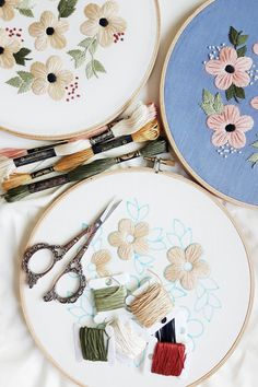 If you start this pattern now, you'll have a new embroidery in time for fall. Hint hint.