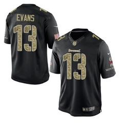 3dea41729 Tampa Bay Buccaneers  13 Mike Evans Our online shop provide you lowest cost  and best. Salute To ServiceTampa ...