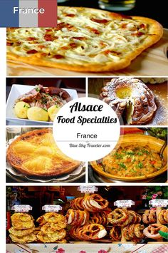 Eating in the border region of Alsace, you get a taste of both French and German foods and a third version of the blend of the two cuisines.