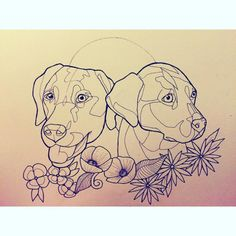 tattoos of labradors - Google Search