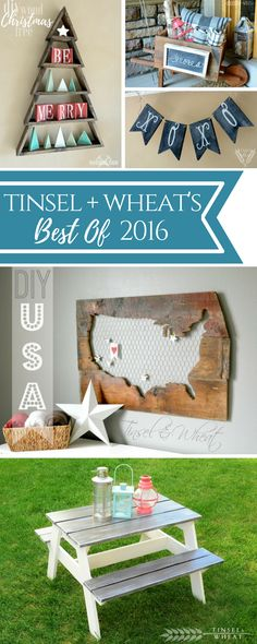 Our best DIY projects of 2016! A look back at our reader's favorites projects of the year!