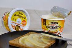 Passt hervorragend zum Sonntagsbrötchen: der süße cremige Brotaufstrich von Hellmi mit 20% Honiganteil  sorgt jeden Morgen für ein gelungenes Frühstück.