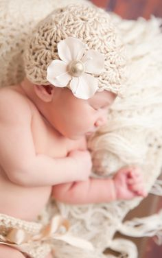 Newborn Beanie Hat Diaper Cover Photo Prop by BeautifulContrasts, $24.00
