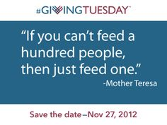 Wise words about charity, generosity! Last year requests for emergency food assistance was up a whopping True Quotes, Words Quotes, Wise Words, Quotes Images, Sayings, Giving Quotes, World Hunger, Giving Tuesday, Helping The Homeless