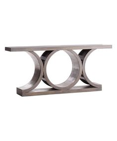 Look what I found on #zulily! Gray Architectural Console Table #zulilyfinds