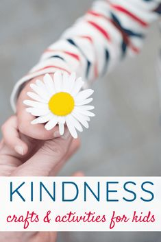 Kindness Crafts & Activities for Kids Teaching Kindness, Kindness Activities, Craft Activities For Kids, Hands On Activities, Preschool Crafts, Kids Crafts, Intelligent People, Fun Arts And Crafts, Family Matters