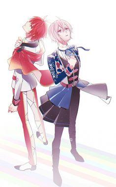 Anime Siblings, Anime Songs, 4th Anniversary, Mystic Messenger, Christmas Wallpaper, Touken Ranbu, Animation, Anime Guys, Anime Art