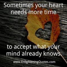 Even Acceptance Needs Healing