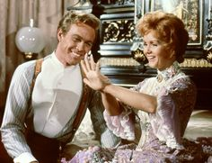 Still of Debbie Reynolds and Harve Presnell in The Unsinkable Molly Brown