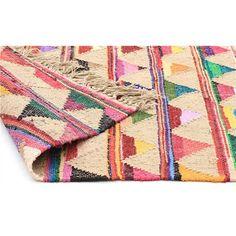 Marlo Hand Woven Jute and Cotton Indoor/Outdoor Rug - 270x180cm