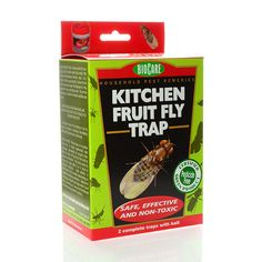 BioCare Kitchen Fruit Fly Traps, set of 2: BioCare Kitchen Fruit Fly Traps BioCare has… #Live_Superfoods #biocare #control #flies #fly