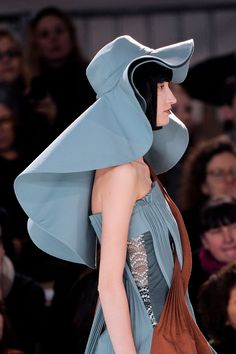 """What was this person thinking? """"Oh let's make a hat that looks like a dead sea creature! """""""