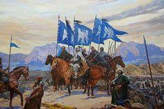 Yıl 1071, Sultan Alparslan'ın kayın pederi vefat etmiş ve canı fena halde sıkılmaktadır. Bu arada ordu sefer hazırlıkları yapmakta bir yandan da cenaze merasimi için uğraş verilmektedir. Merasim biter Sultan son derece keyifsizdir, onun bu halini gören Validemiz Selcen Hatun, Sultana hitaben ''Babamızı gömdük, lakin davamızı gömmedik, Tuğları kaldır, orduyu yürüt.'' der!