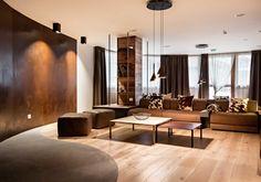 Nira Montana, Restaurant & SPa, La Thuile (AO) - HI LITE Next #lighting #design #fixtures #Foscarini #Aplomb, Oty Light Tim 03