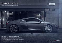 Pubblicità Audi city lab #copywriter #audi