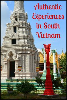Visit with locals, stop by spiritual monuments, don a conical hat and boat through a beautiful nature preserve, and much much more in South Vietnam.